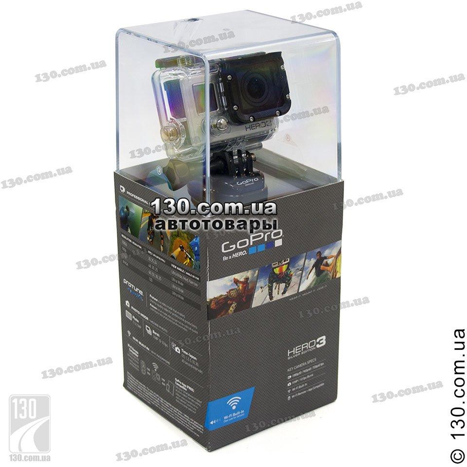 gopro hero3 silver edition action camera. Black Bedroom Furniture Sets. Home Design Ideas