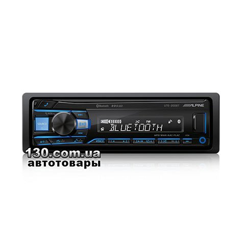 Медиа-ресивер Alpine UTE-200BT с Bluetooth