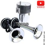 Automotive air sound Elegant 100 743 2 horns (chrome)