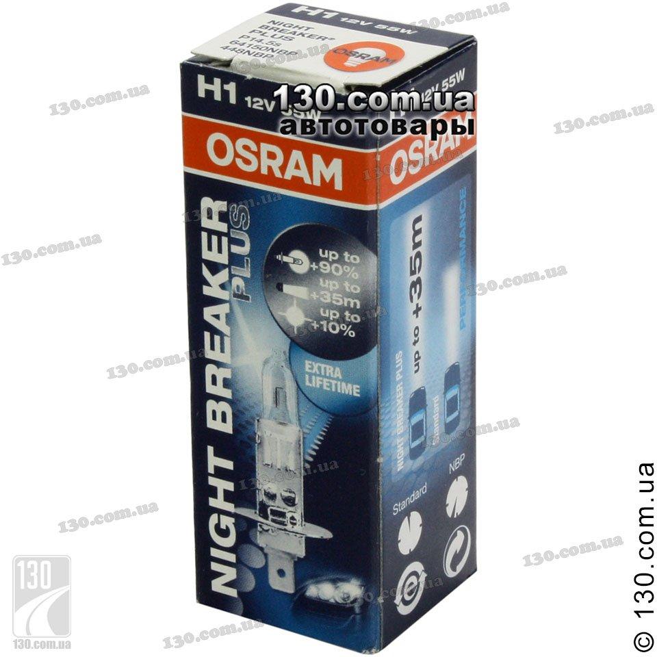 osram h1 64150nbp fs1 night breaker plus automotive. Black Bedroom Furniture Sets. Home Design Ideas