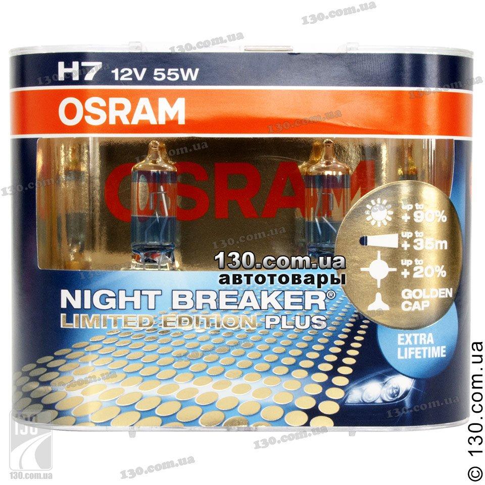 osram h7 64210nbl night breaker limited edition plus. Black Bedroom Furniture Sets. Home Design Ideas
