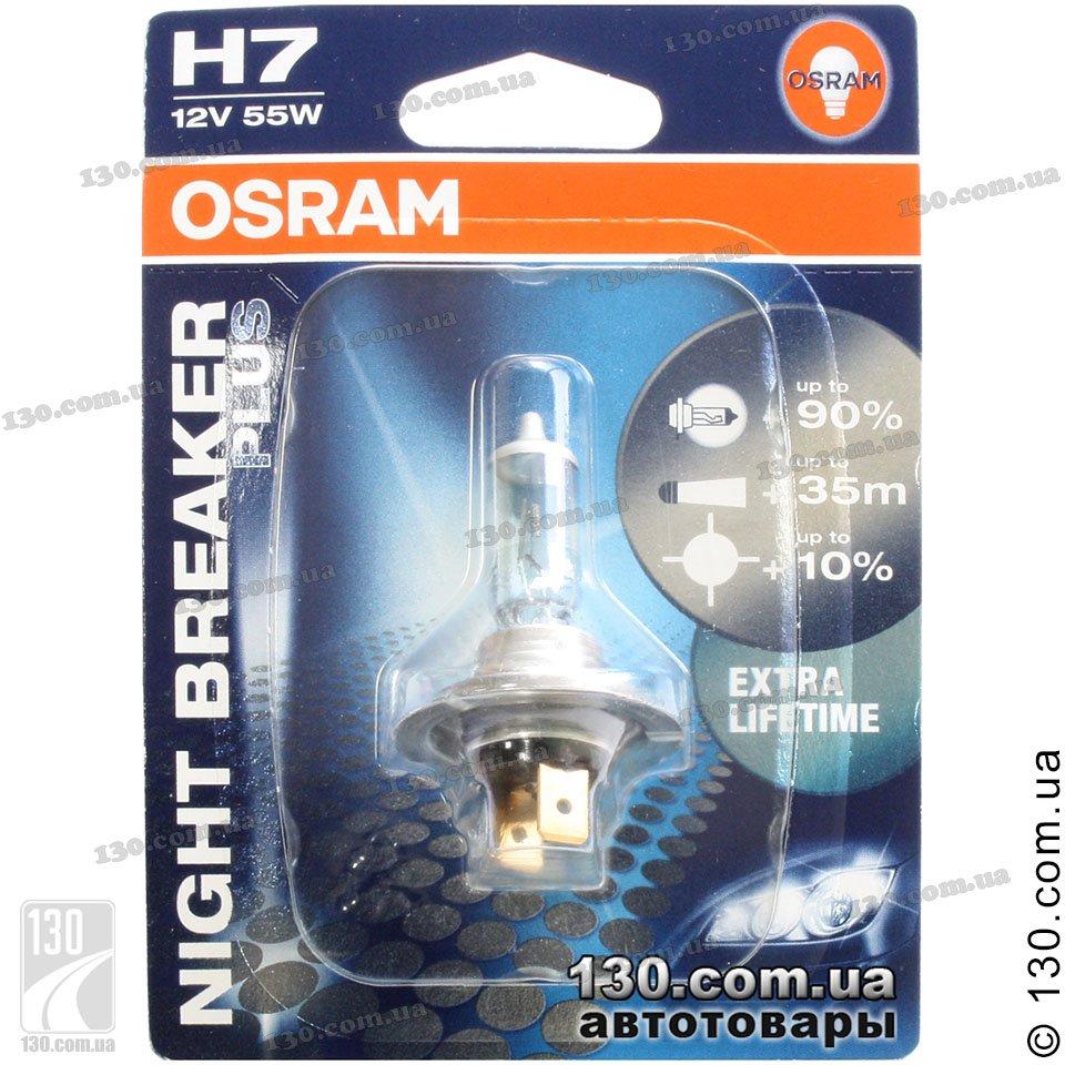osram h7 64210nbp 01b night breaker plus automotive. Black Bedroom Furniture Sets. Home Design Ideas
