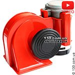 "Automotive sound ""snail"" Elegant 100 760 Nautilus 530/680 Hz color red"