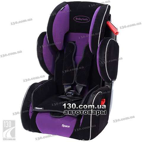 Детское автокресло BabySafe Space Premium Purple Purple