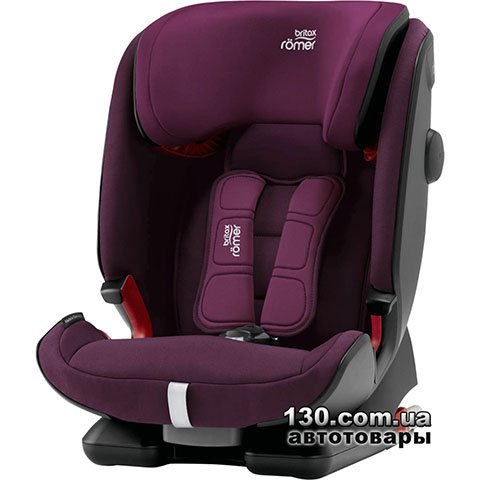 Дитяче автокрісло Britax-Romer ADVANSAFIX IV R Burgundy Red