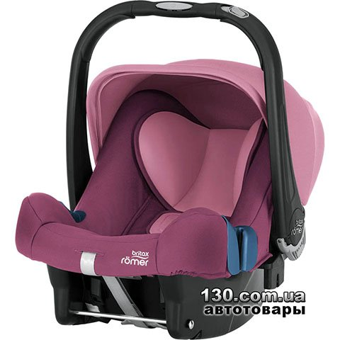 Дитяче автокрісло Britax-Romer BABY-SAFE PLUS SHR II Wine Rose