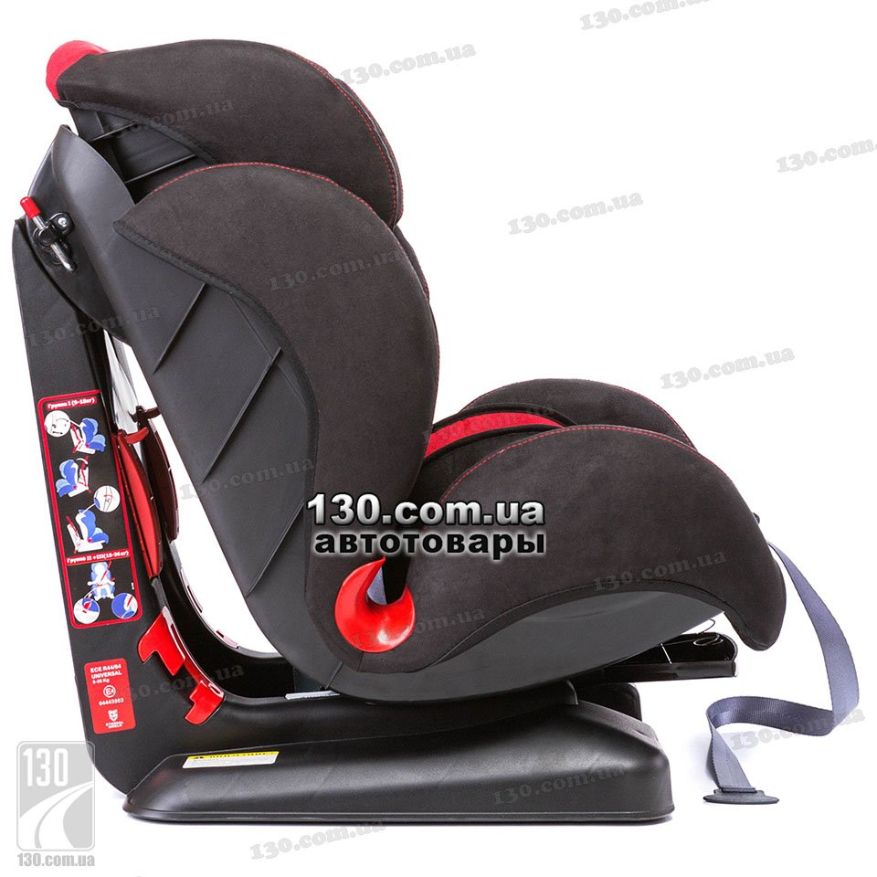 Baby Car Seat Eternal Shield Honey Red Black ES02 H21 009