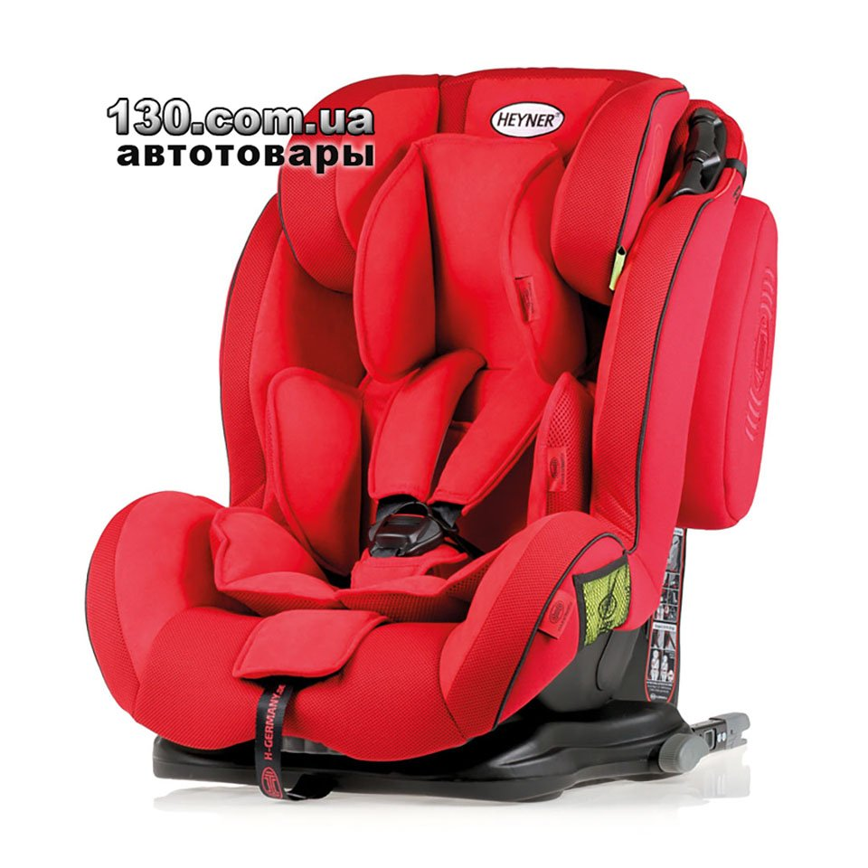 HEYNER Capsula MultiFix ERGO 3D Buy Child Car Seat With ISOFIX Racing Red 786 130