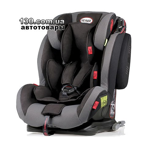Child car seat with ISOFIX HEYNER Capsula MultiFix ERGO 3D Pantera Black (786 110)