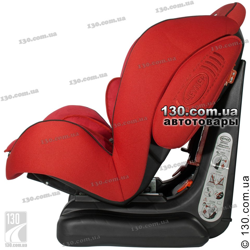 Baby Car Seat HEYNER CapsulaProtect 3D Racing Red 795 300