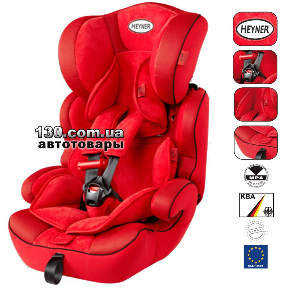Baby Car Seat HEYNER MultiProtect ERGO 3D SP Racing Red 791 300