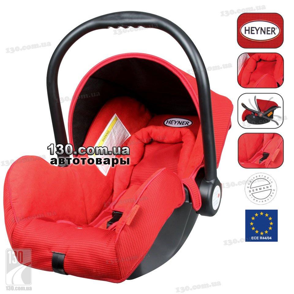 HEYNER SuperProtect Comfort — buy baby car seat Racing Red (780 300)