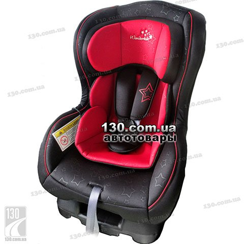 Детское автокресло WonderKids Crown Safe Red Black (WK01-CS11-001)