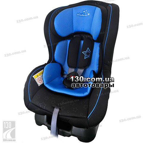 Детское автокресло WonderKids Crown Safe Blue Black (WK01-CS11-002)