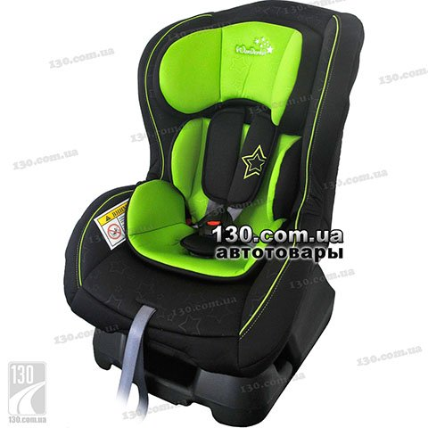 Детское автокресло WonderKids Crown Safe Green Black (WK01-CS11-003)