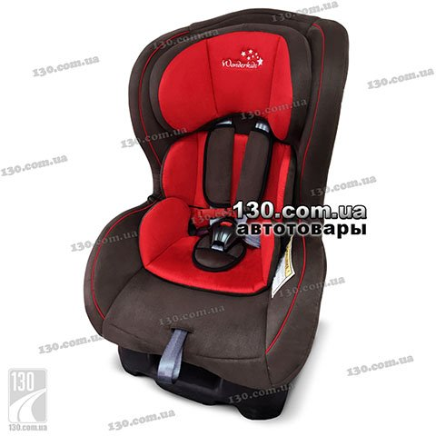 Детское автокресло WonderKids Crown Safe Red Brown (WK01-CS11-011)
