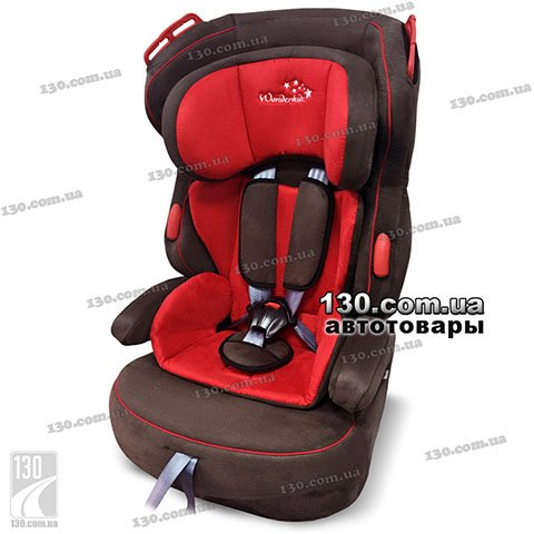 Детское автокресло WonderKids Valet Safe Red Brown (WK03-VS11-011)