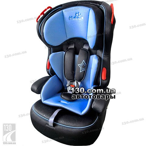 Детское автокресло WonderKids Valet Safe Blue Black (WK03-VS11-002)