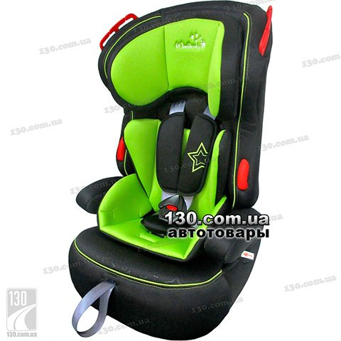 Детское автокресло WonderKids Valet Safe Green Black (WK03-VS11-003)