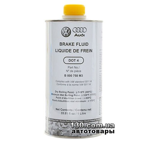 Brake fluid VAG DOT4 Plus — 1 l