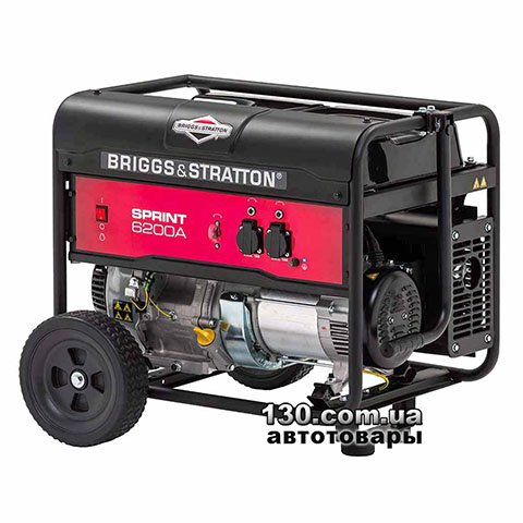 Генератор бензиновий Briggs&Stratton Sprint 6200A