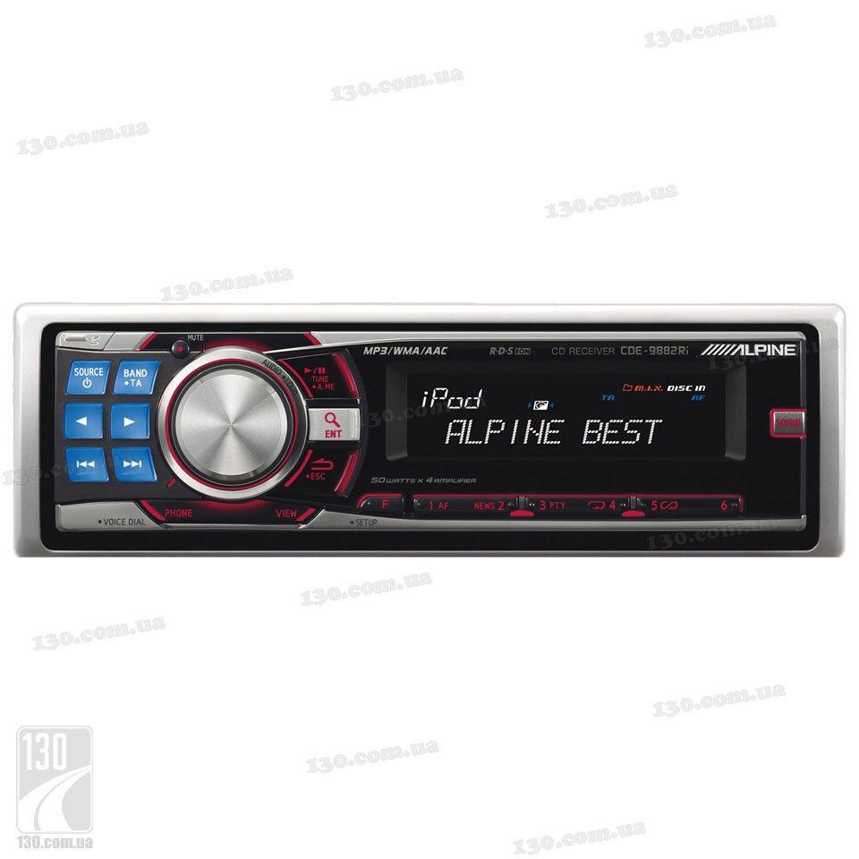 Alpine Cde 9882Ri Инструкция