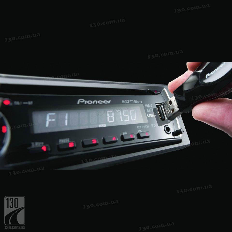 скачать инструкция автомагнитолы pioneer deh-2100ub