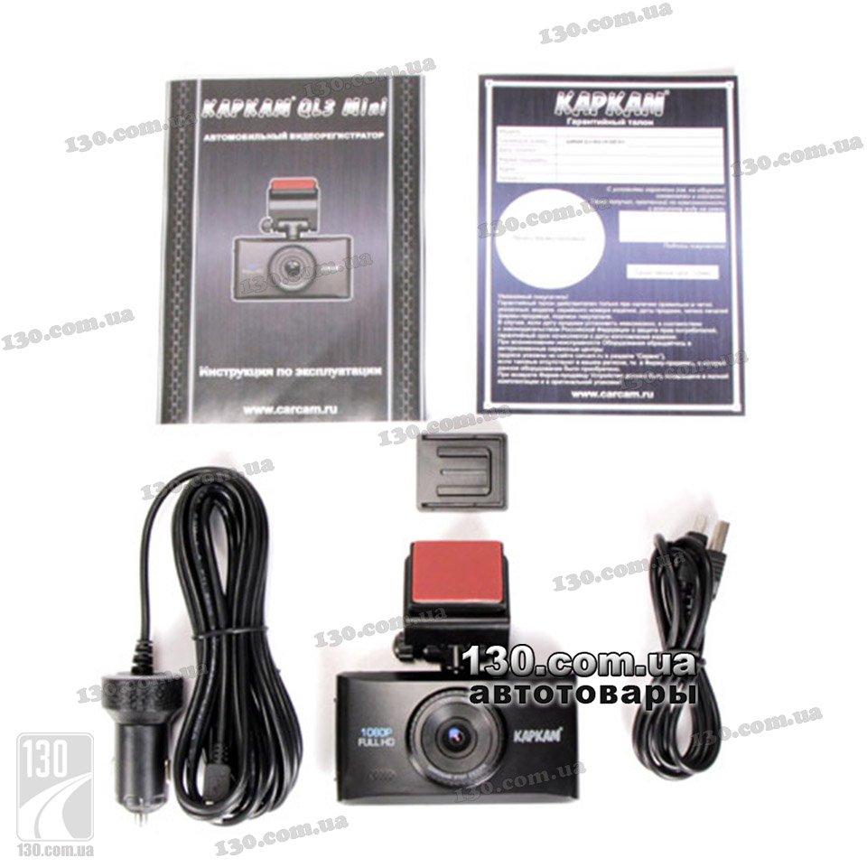 Автомобильный видеорегистратор каркам ql3 mini