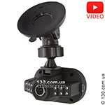 Car DVR RS DVR-100HD with IR illumination and LCD