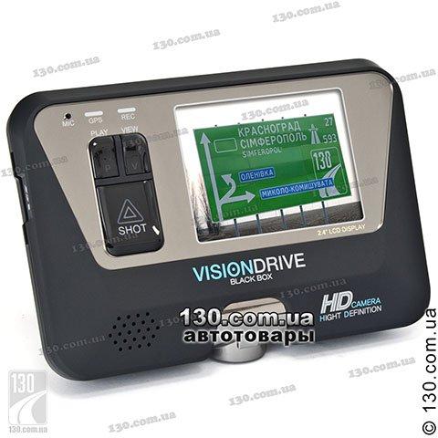 Автомобильный видеорегистратор VisionDrive VD-8000HDS