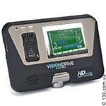 Автомобильный видеорегистратор VisionDrive VD-8000HDS с LCD дисплеем и GPS логгером