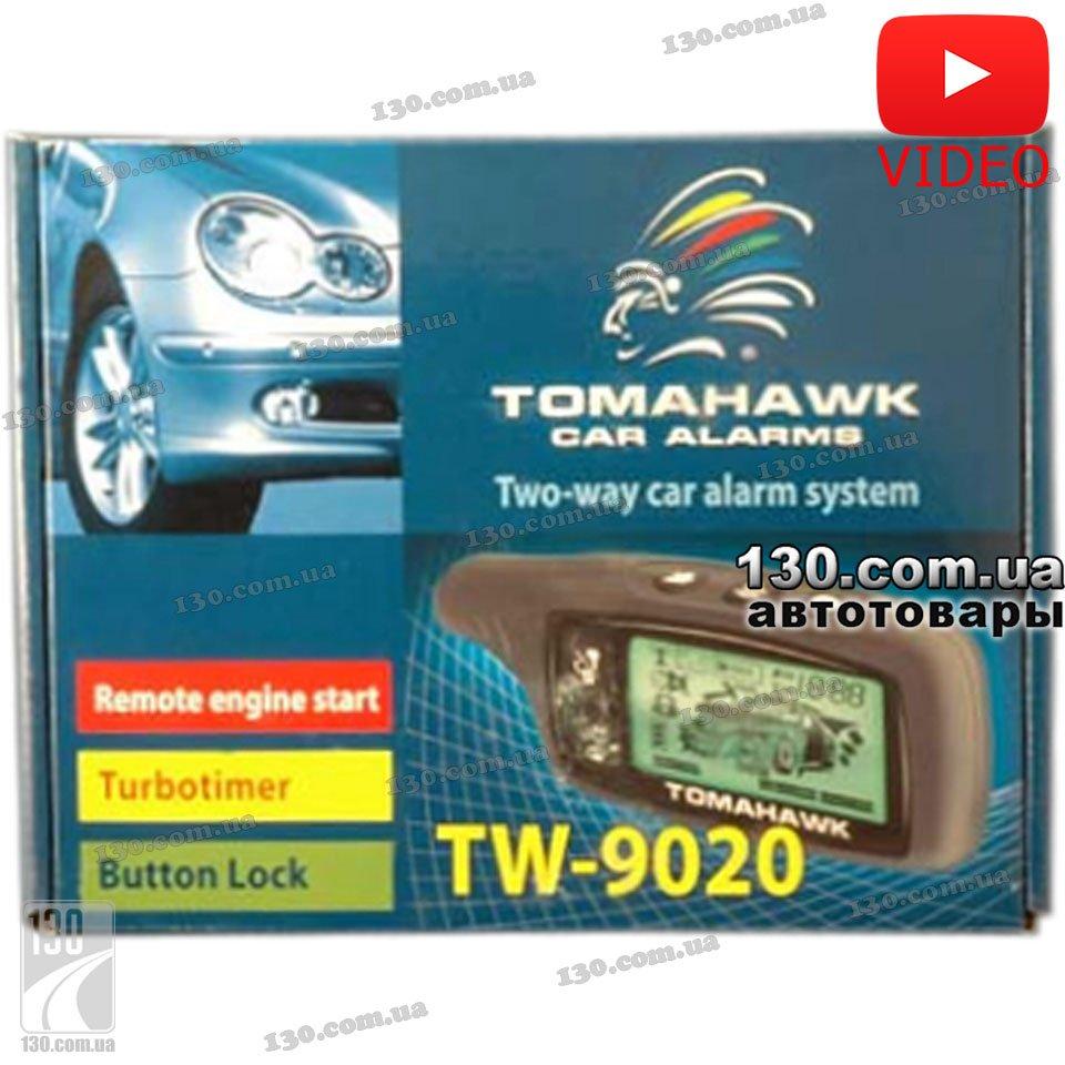 Автосигнализация Tomahawk TW-9020 с обратной связью и автозапуском двигателя.