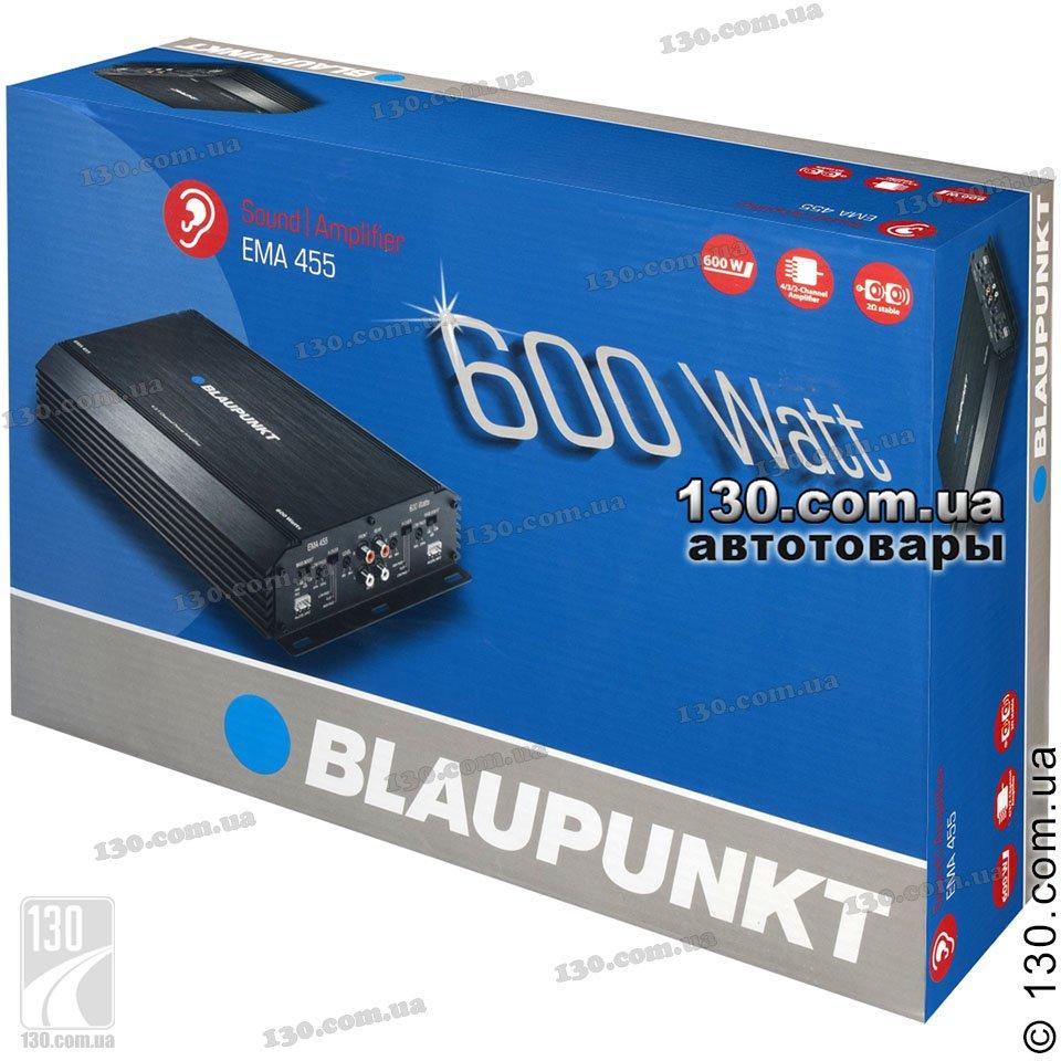 Car amplifier Blaupunkt EMA-455