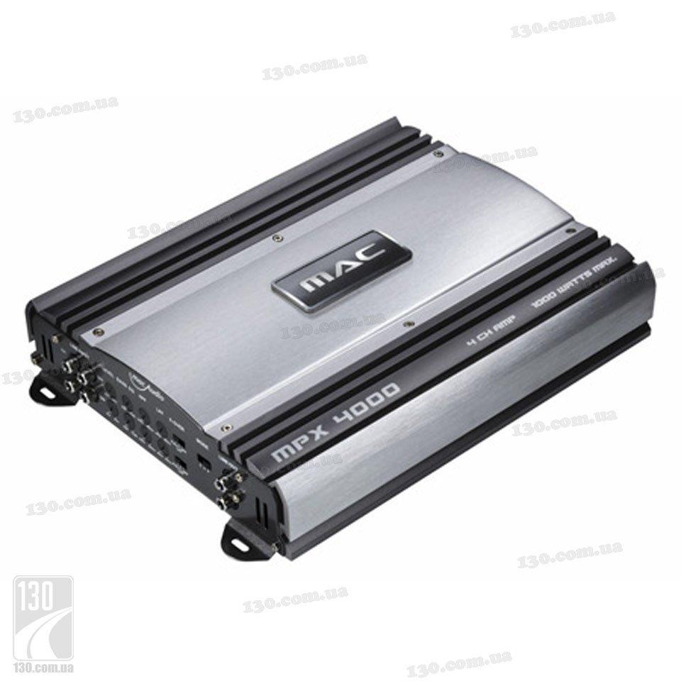 Автомобильный усилитель MacAudio MPX 4500.