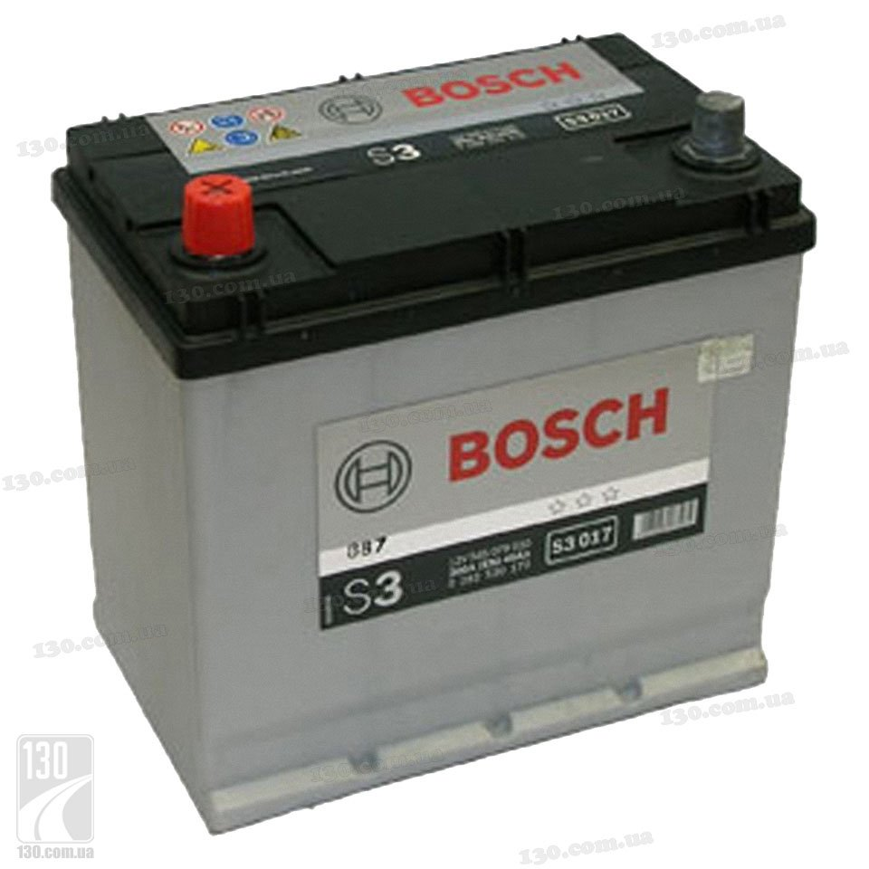 Bosch S3 545 079 030 45 Ah Buy Car Battery Left