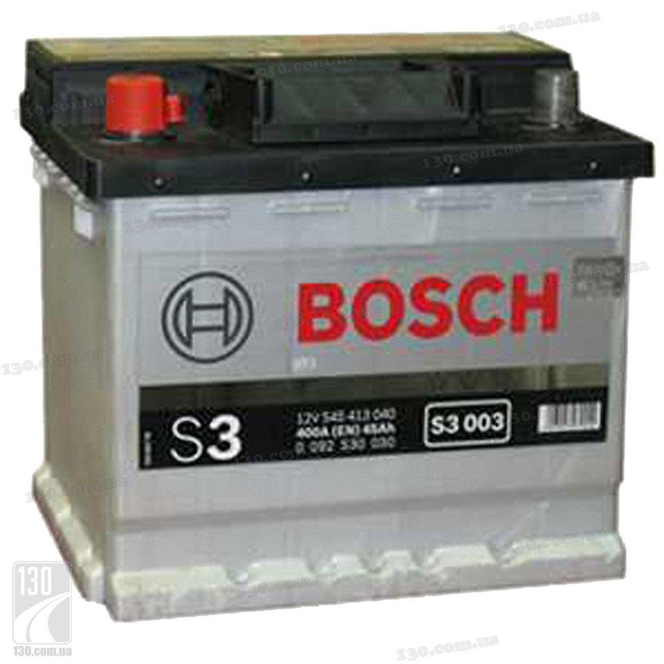 bosch s3 545 413 040 45 ah buy car battery left. Black Bedroom Furniture Sets. Home Design Ideas