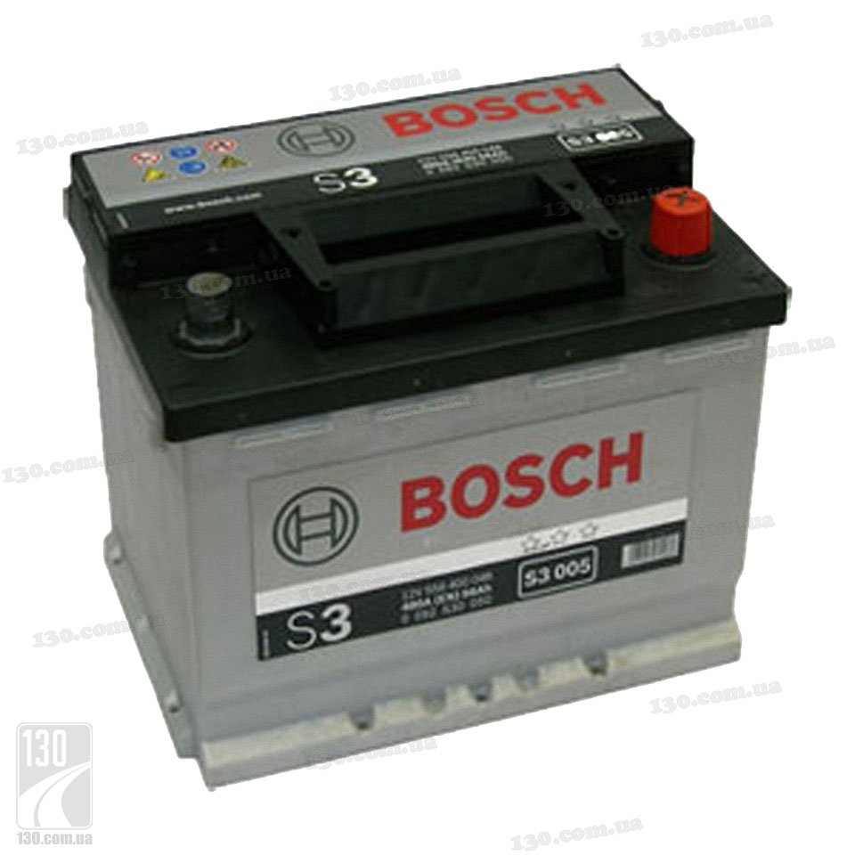bosch s3 556 400 048 56 ah car battery right. Black Bedroom Furniture Sets. Home Design Ideas
