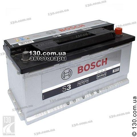 Автомобильный аккумулятор Bosch S3 (0092S30130) 90 Ач «+» справа