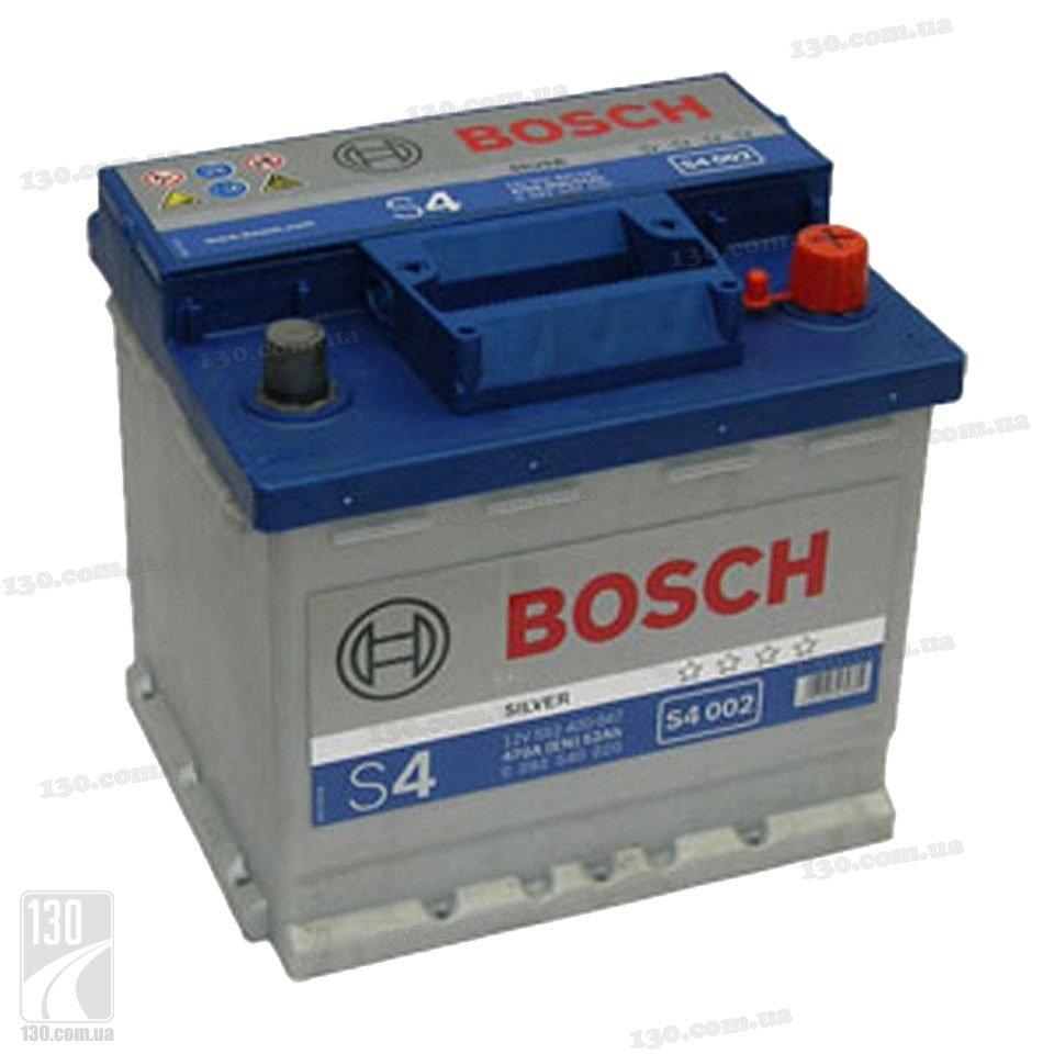 Аккумуляторы Bosch S4 Silver.