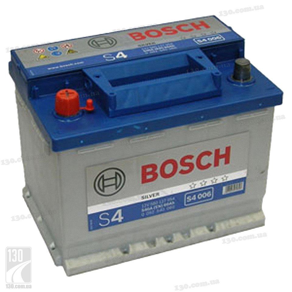 Bosch S4 Silver 560 127 054 60 Ah Buy Car Battery Left