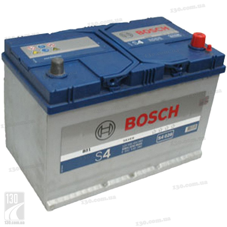 Car battery bosch s4 silver 595 404 083 95 ah right for asia
