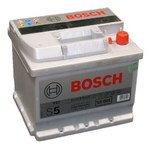 Аккумуляторы Bosch S5 Silver Plus