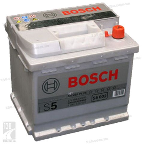 "Bosch S5 Silver Plus 554 400 053 54 Ah — car battery right ""+"""