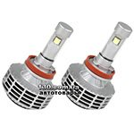 Car led lamps OLLO 6G 2x3000 LM H8/H9/H11