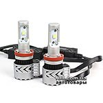 Car led lamps RS G8 H11 2x3000 LM