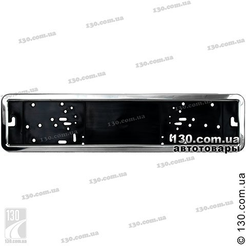 Car number license plate frame Vitol RN-50050 stainless steel
