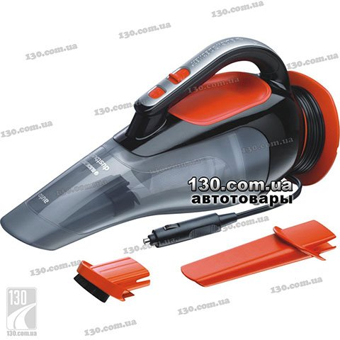 Car vacuum cleaner Black&Decker ADV1210 for dry cleaning