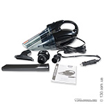 Car vacuum cleaner HEYNER CyclonicPower PRO 240 with LED lamp for dry and wet cleaning