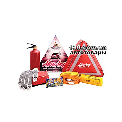 Cars owner set with a bag Poputchik 01-014-U red