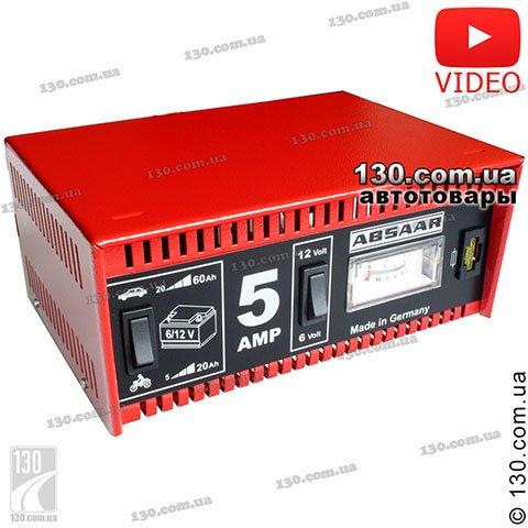 Alca Absaar 903 000 купить зарядное устройство 6 12 В 5